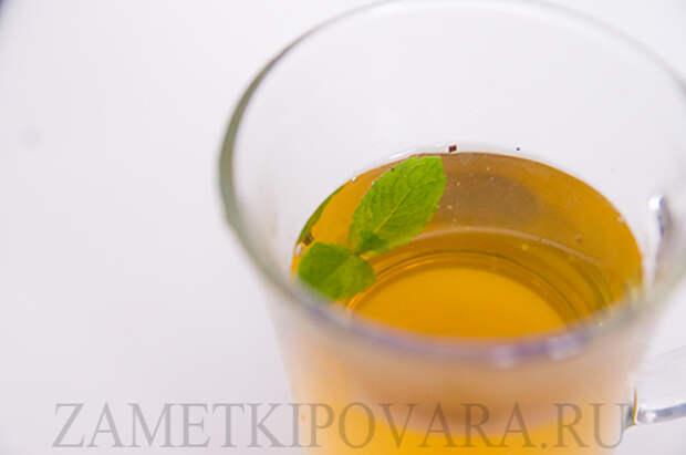 Марокканский мятный чай со специями