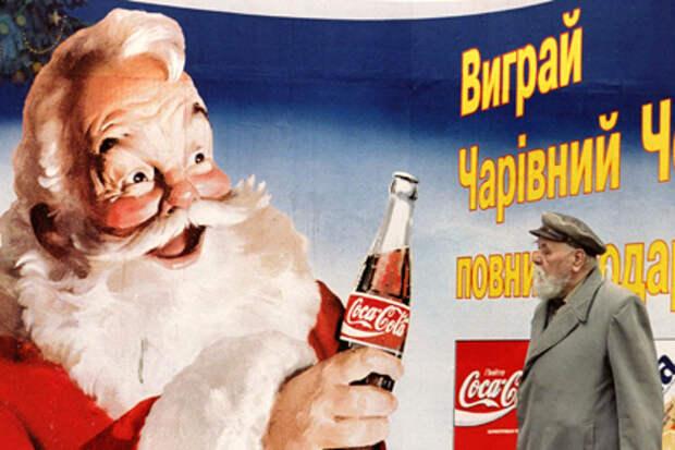 Новогодняя карта Coca-Cola с российским Крымом взбесила украинских политиков