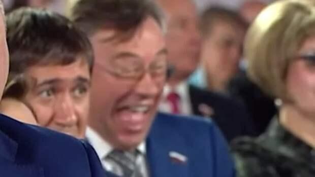Алтайский депутат Госдумы объяснил, почему смеялся во время послания Путина