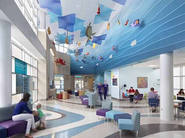 17. James and Connie Maynard Children's Hospital, Северная Каролина. больницы, дети