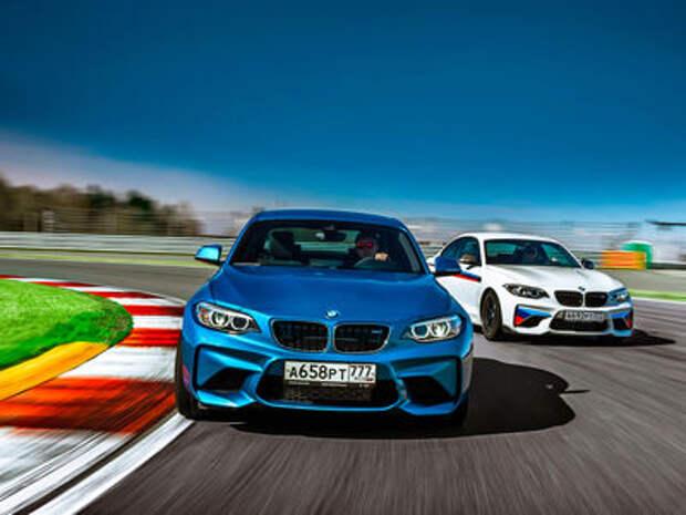 Тест BMW M2 и M2 Performance: донастройка