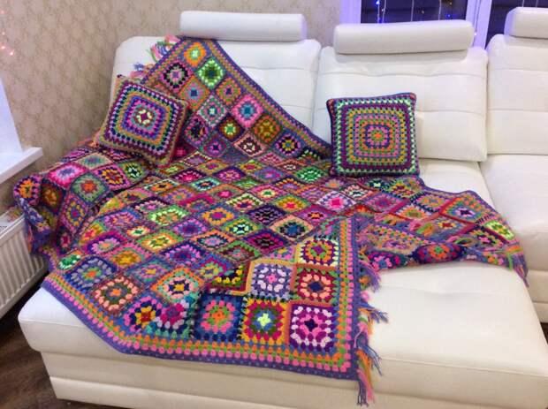 Плед-коврик для малышей.