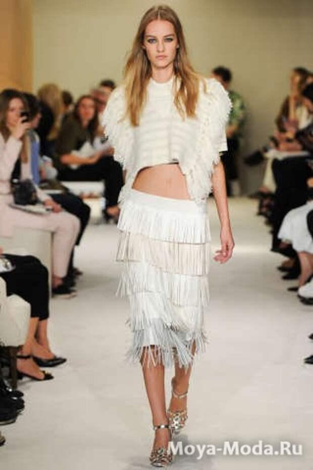 Модные юбки весна-лето 2015 Sonia Rykiel