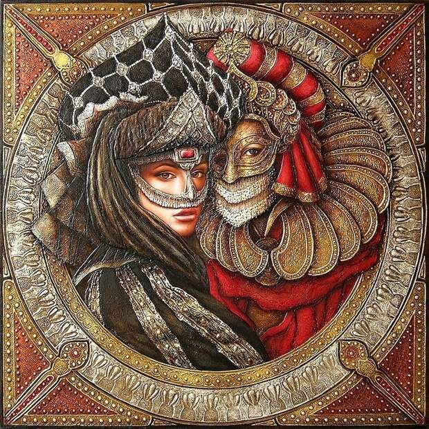 Уникальная живопись от Сергея Кустарева.
