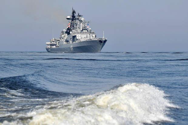 Боевые корабли вышли в Баренцево море для подготовки к походу по Севморпути