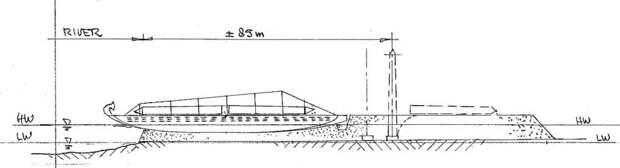 Рис. 5. Разгрузка в Карнаке (автор)