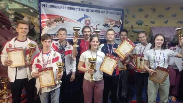 В Ялте прошел чемпионат и первенство по скалолазанию