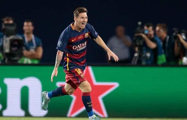 Лионель Месси повторил рекорд Криштиану Роналду по количеству голов в еврокубках