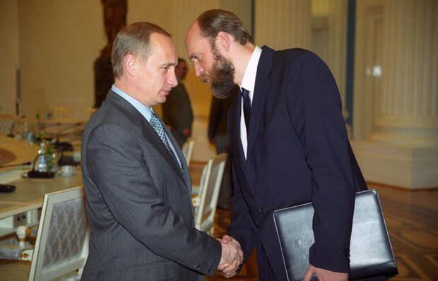 Путину помог стать президентом Пугачев