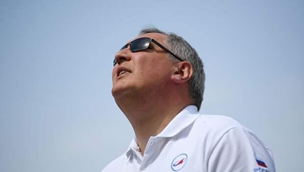 Глава госкорпорации Роскосмос Дмитрий Рогозин. Архивное фото