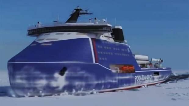 «Росатом»: контракт на создание в РФ суперледокола «Лидер» подписан