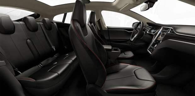 Салон автомобиля Тесла