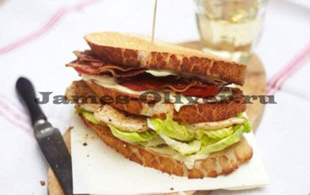Лучший клаб сэндвич от Джейми Оливера