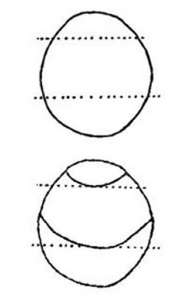 Божьи коровки и клубничка. Живопись на гальке (2) (319x498, 37Kb)
