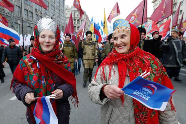 Шествие «Мы едины!» в Москве