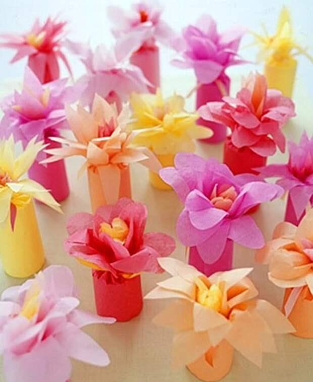 Upakovka podarka Tsvetok Упаковка подарка «Цветок» Ñ