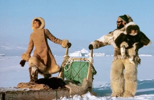 Пересекая Северно-Ледовитый океан