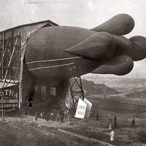 Одна из самых ранних моделей цеппелина, 1908 интересно, история, фото