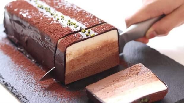 Рецепт дня: шоколадный чизкейк без выпечки
