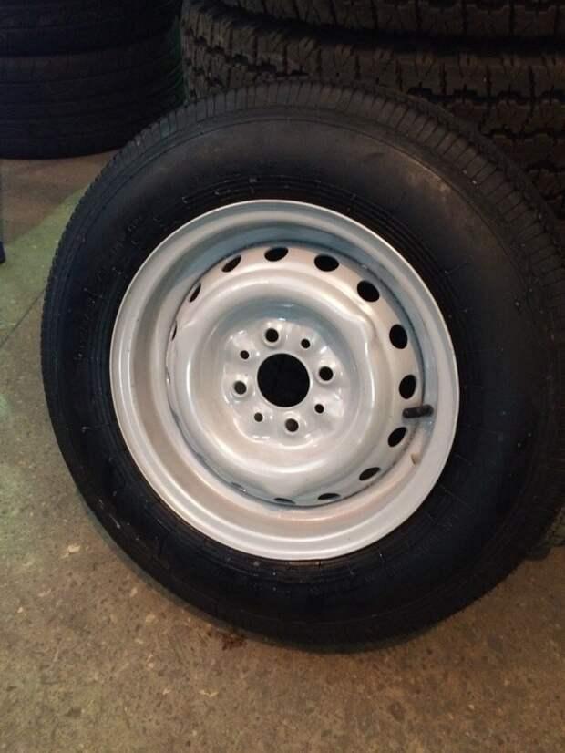 Был найден 5 колес у одного деда. Отпескоструили и покрашено порошковой краской. авто, своими руками, сделай сам, ссср