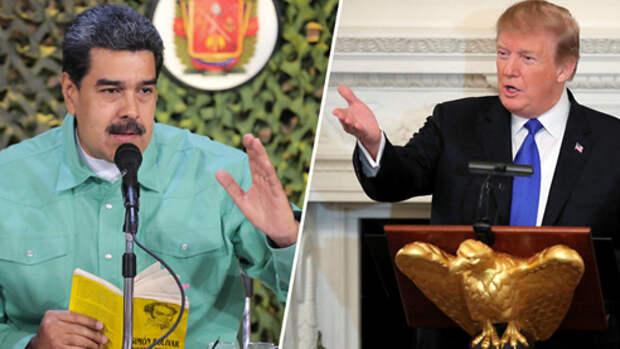 США — Венесуэла. Курс на вторжение?