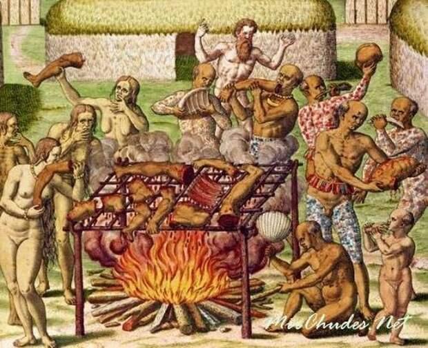 Отвращение к каннибализму - явление не биологическое, а культурно-социальное