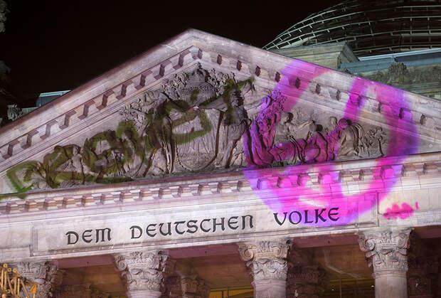 Германия отметила 25-летие падения Берлинской стены