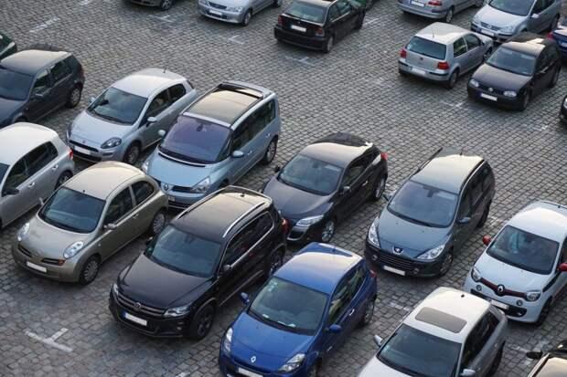 Начата реализация парковочных мест на Хорошевском шоссе