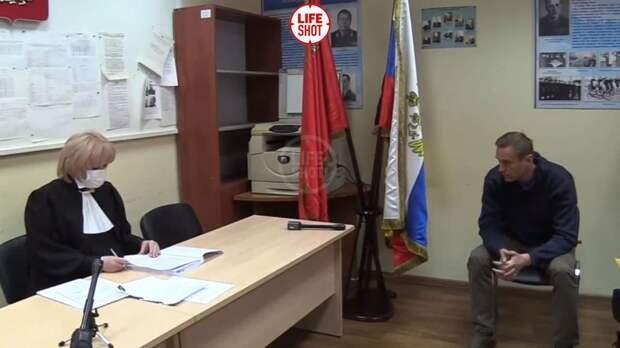 Навальный арестован на 30 суток (суд прошел прямо в отделении полиции):  varlamov.ru — LiveJournal
