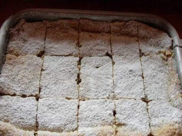 пудра на пироге