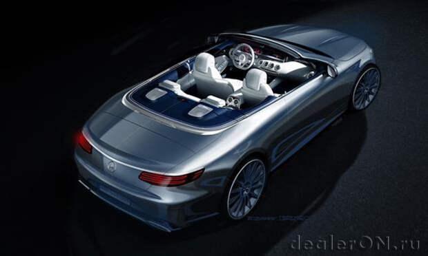 Mercedes-Benz подготовил четырехместный кабриолет S-класса