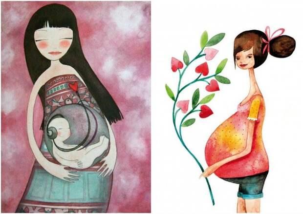 17 нежных иллюстраций с любовью к нашим мамам