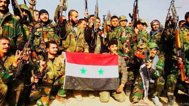 Правительственные войска Сирии. Источник изображения: https://vk.com/denis_siniy