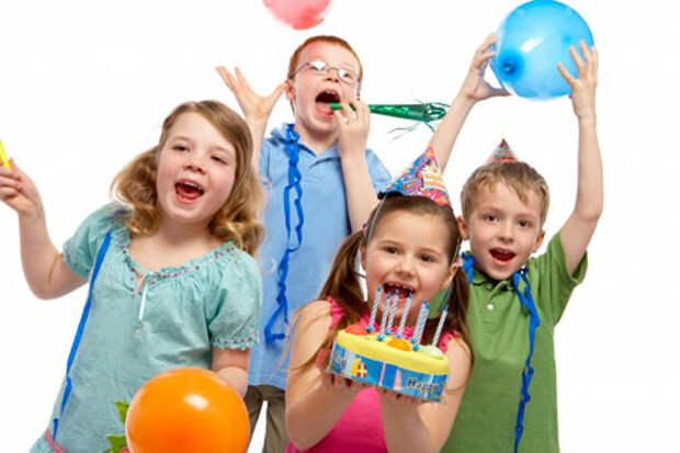 Детский мир. Весёлые детские конкурсы и игры на день рождения