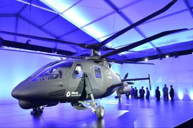 Вертолет S-97 «Райдер» компании «Сикорский эйркрафт» выполнил первый испытательный полет