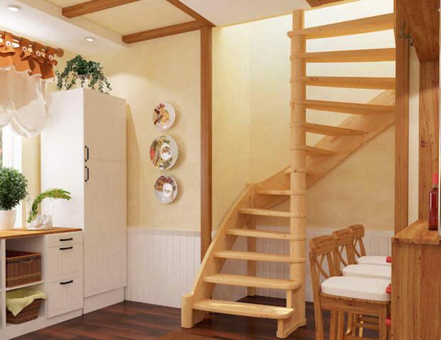 Лестница из дерева: с чего начать