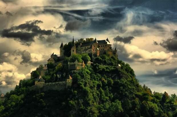 Замок Гохостервитц, Австрия.
