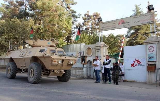 «Врачи без границ»: следователи США вторглись на территорию госпиталя в Кундузе на танке