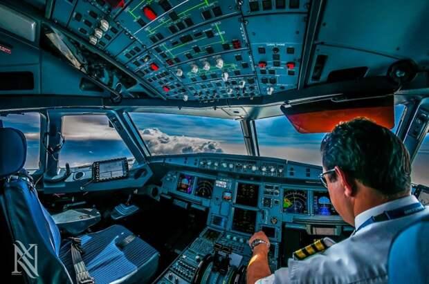 fromcockpit13 25 фотографий, сделанных пилотами из кабин самолетов