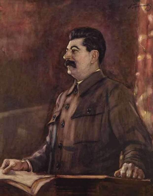 Александр Герасимов - любимый художник Сталина