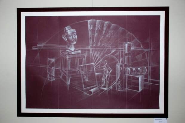 Картина. Фото: выставочный зал «Тушино»
