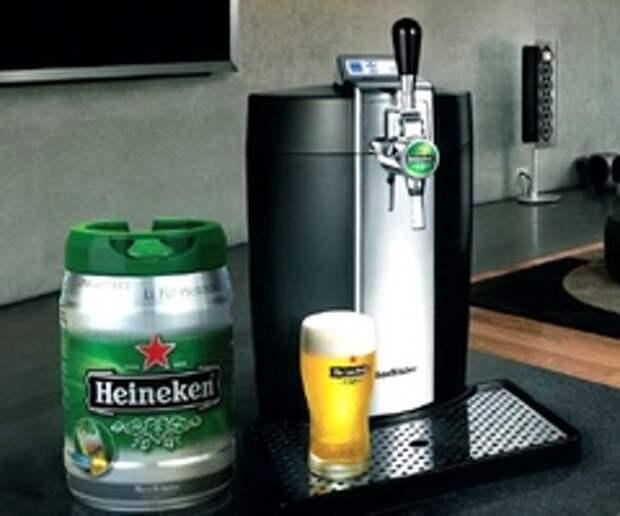 Heineken предложил любителям пива домашний пивной бар