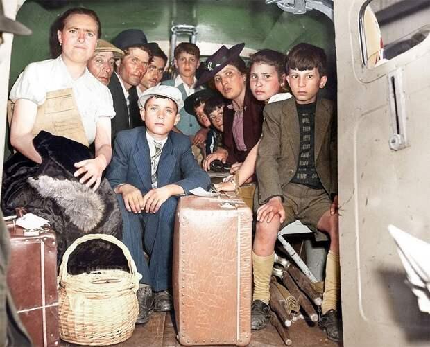 Беженцы Второй мировой
