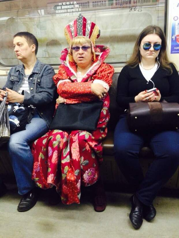 Неординарные пассажиры метро