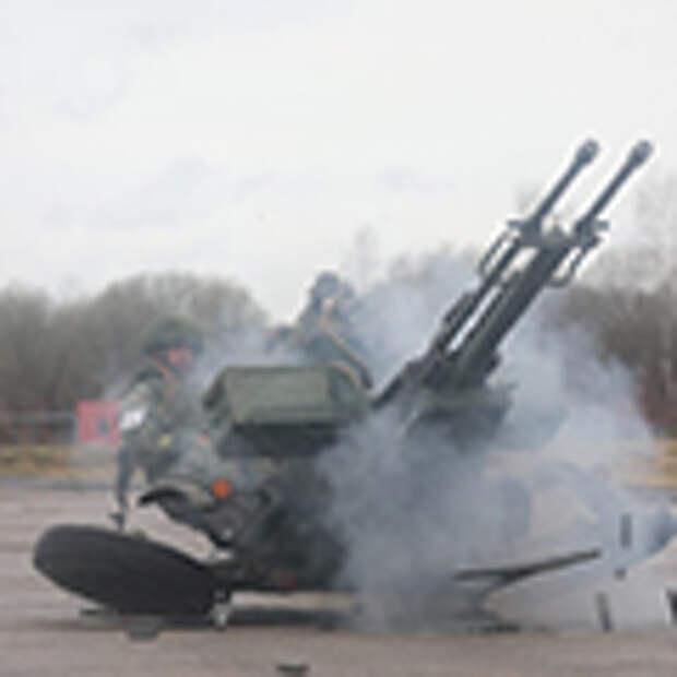На отборочном этапе конкурса «Мастер-оружейник» среди ремонтных взводов вооружения определили лучших специалистов по ремонту 23-мм спаренной зенитной установки ЗУ-23