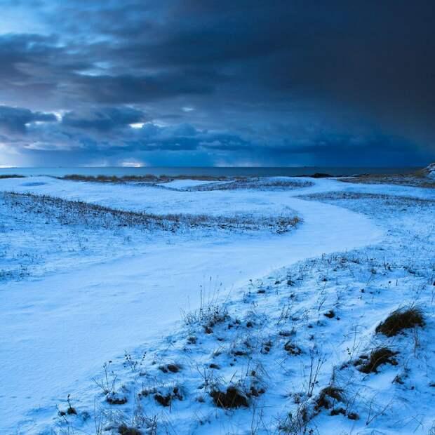 Минимализм во всем: красивые зимние пейзажи