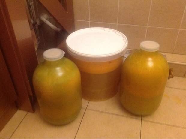 Варим самогон из мандарин