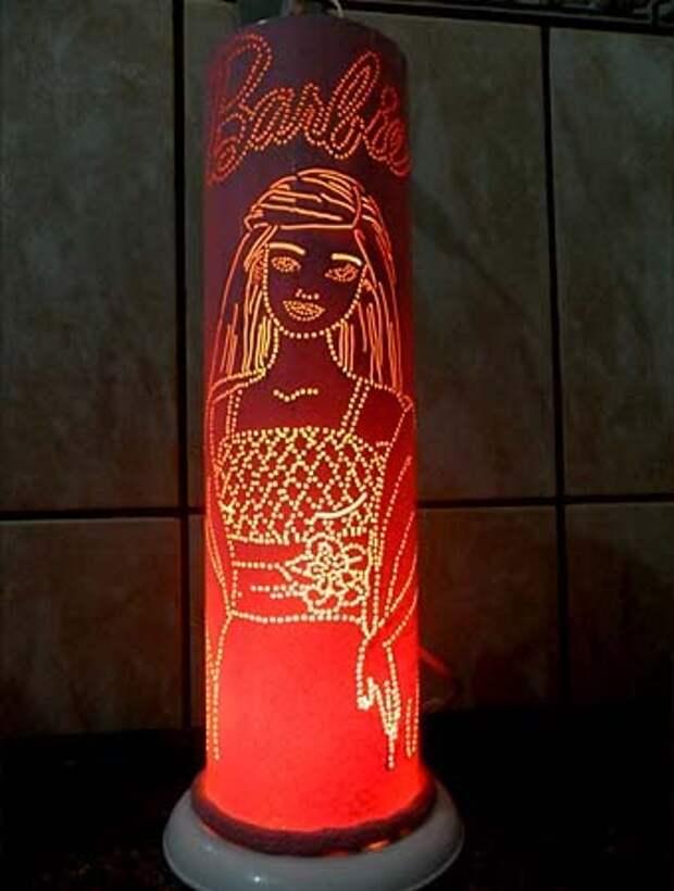 светильник Барби для комнаты девочки