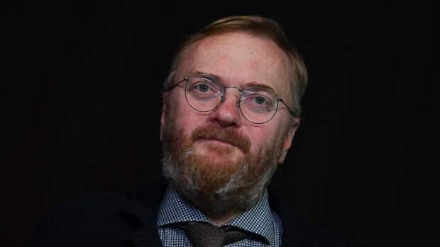 Депутат Милонов предложил запретить «хайп на религии» после инцидента с блогершей у храма