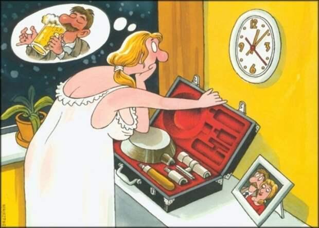 Муж и жена ссорятся... Улыбнемся)))